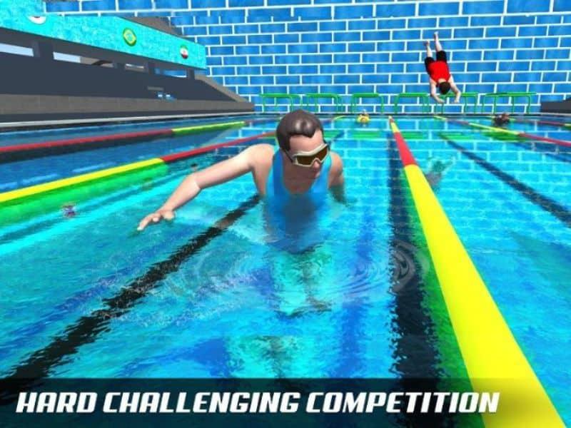 Trò chơi bơi lội là thể loại game thể thao giải trí liên quan đến các giải bơi nổi tiếng trên thế giới