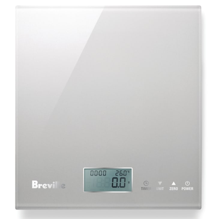 Breville The Multi Measure Electronic Scale Silver