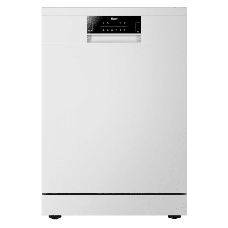 Haier White Dishwasher