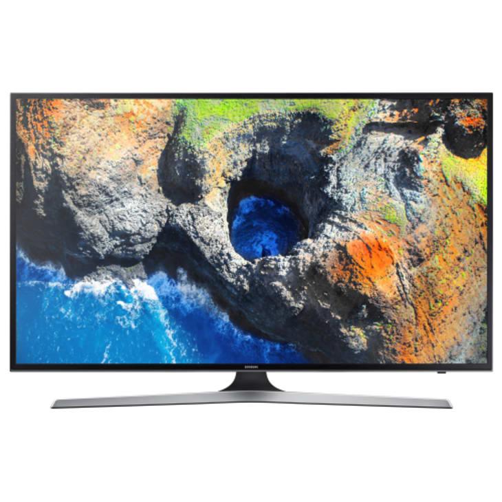 "Samsung 55"" 4K UHD Smart TV Dual Tuner"
