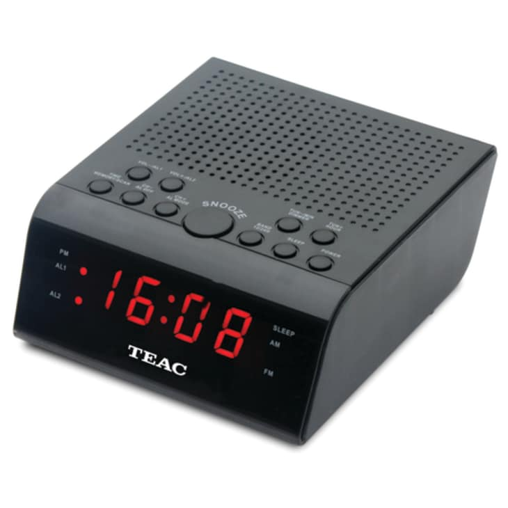 Teac Dual Alarm AM FM Clock Radio