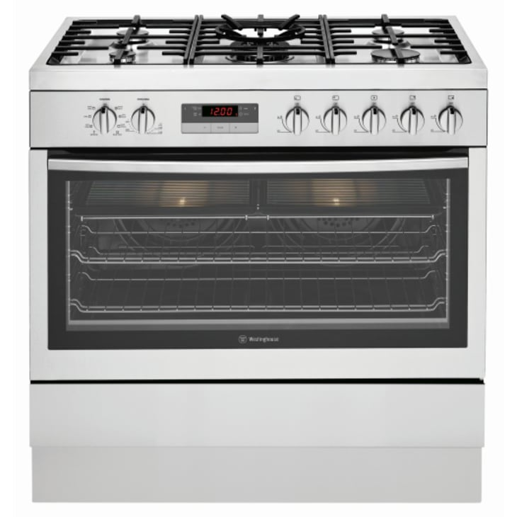 Westinghouse Dual Fuel Freestanding Oven with Gas Cooktop