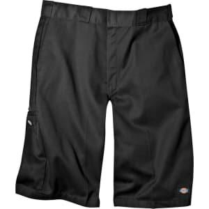 94abca7972 Dickies Men s Big   Tall Loose Fit Twill 13 Multi-Pocket Work Shorts ...
