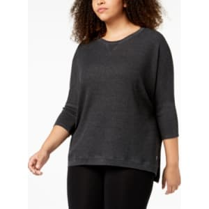 7a7982bfadf Calvin Klein Performance Plus Size 3 4-Sleeve Top from Macy s.