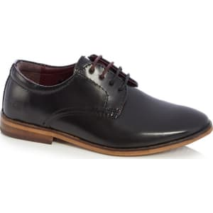 9695a6e2d Baker by Ted Baker - Boys Black Leather Smart Shoes from Debenhams.