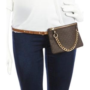 9687ff43e8 Michael Kors Belt Bag With Pull Chain from Dillard s.