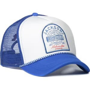 146815b610c Cotton on Men - Wicked Print Trucker - Jackson Co Cobalt from Cotton On.