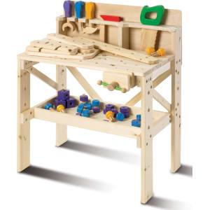 Toddler Boys Fao Schwarz Wood Toy Workbench