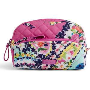 35cc812736 Vera Bradley Iconic Mini Cosmetic Bag in Wildflower Paisley from ...