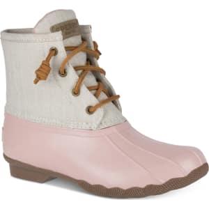 df176b36ecee Sperry Women s Saltwater Duck Booties Women s Shoes from Macy s.