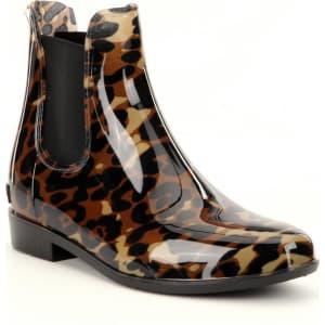 0d4be49b501b Lauren Ralph Lauren Tally Leopard Print Waterproof Rain Boots from ...