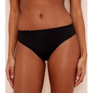 9bd563fe96a Sloggi - Black  Wow Comfort  High Leg Knickers from Debenhams.