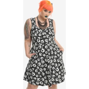 Hot Topic Nightmare Before Christmas Dress.The Nightmare Before Christmas Jack Toss Dress Plus Size