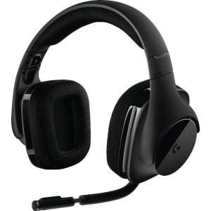 df6318dcdd6e35 Logitech G533 Wireless Gaming Headset, Black from Target.