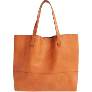 08f2b082e Sole Society Dawson Oversize Faux Leather Shopper - from Nordstrom.