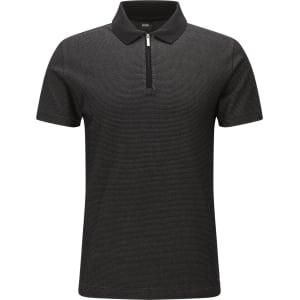 79a5c011 Hugo Boss Patterned Mercerized Pima Cotton Polo Shirt, Slim Fit ...