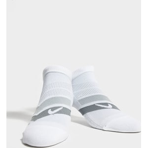 buy online a4ad0 8ac99 Nike Run Performance Cushioned Socks - White - Mens from JD Sports.