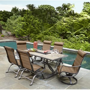 Outdoor Ty Pennington Palmetto 7 Piece Patio Dining Set Limited