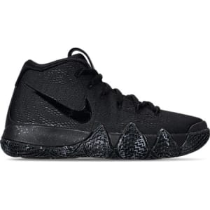 release date 26659 0d3f0 Nike Boys  Grade School Kyrie 4 Basketball Shoes, Black from Finish ...