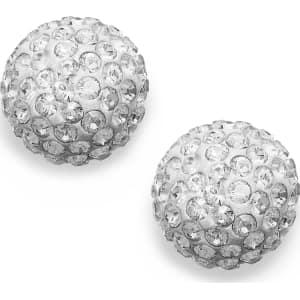 b8fad7085 Swarovski Earrings, 22k Gold-Plated Crystal Stud Earrings from Macy's.