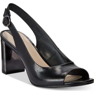 df1f09729 Alfani Women's Florraa Slingback Peep-Toe Dress Sandals, Created for ...