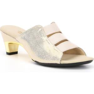 Onex Selma Lizard Print Elastic Sandals
