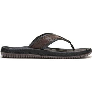 5da9e9c22602 Dr. Scholl s Men s Donnar Thong Sandals (Dark Brown) from Famous ...