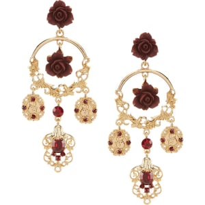 Natasha accessories rose statement chandelier earrings from dillards natasha accessories rose statement chandelier earrings aloadofball Choice Image