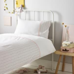 Picot Trim Bed Linen