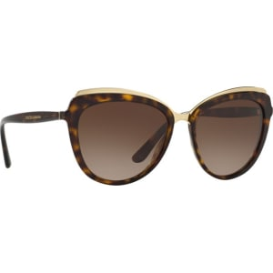 933faa16ddde Dolce & Gabbana - Havana Dg4304 Cat Eye Sunglasses from Debenhams.