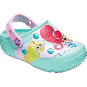 9a6426569 Crocs New Mint Kids  Crocs Fun Lab Shimmer   Shine(tm) Lights Clogs ...