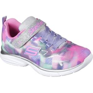 db464d519221 Skechers Girls' Spirit Sprintz Silver Sneaker, Size: 1 - (Youth ...