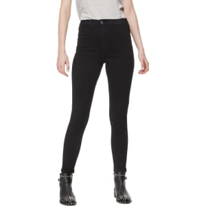 21f086aaa6ed8 Red Herring Black 'Heidi' High Waisted Skinny Jeans from Debenhams.