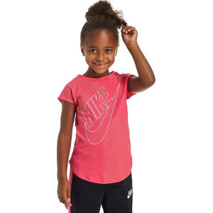 Nike Girls  Futura T-Shirt Children - Pink Gold White - Kids from JD ... 682fadecd5