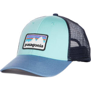 74eb7162a6d675 Women's Patagonia Shop Sticker Patch Lopro Trucker Hat - Blue from ...
