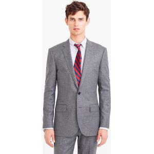 9b0eb5f9759663 Ludlow Suit Jacket in Heathered Italian Wool Flannel from J.Crew.
