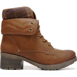 40679b131dd Rock & Candy Women's Sprancie Lace Up Booties (Tan) from Famous ...