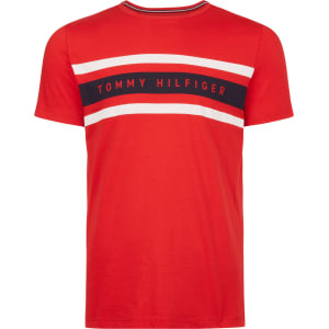 73edd546 Men's Tommy Hilfiger Logo Band Graphic T-Shirt, Red from House of ...