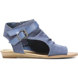 76c878197d8d Blowfish Women s Balla Gladiator Sandals (Indigo) from Famous Footwear.