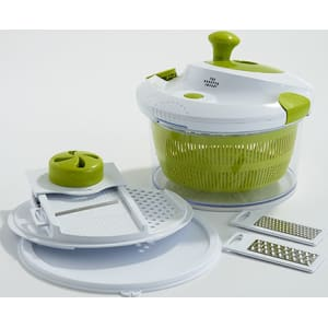The Sharper Image 5 In 1 Salad Spinner From Boscovs