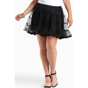 3c16019ae01 Short Petticoat in Black White from Torrid.