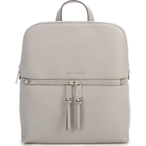 Michael Michael Kors Silver-Tone Rhea Slim Zip Backpack from Dillard s. 6fbd04bc3e959