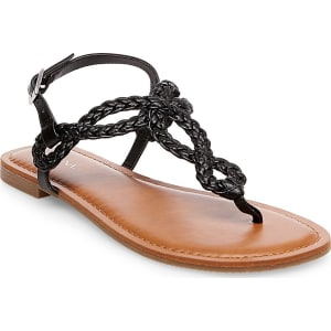 98cbf3a6e24b Women s Jana Quarter Strap Sandals - Merona Black 8 from Target.