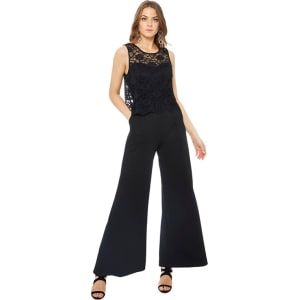 4ca202effd56 rjr.john Rocha - Black Lace Sleeveless Jumpsuit from Debenhams.