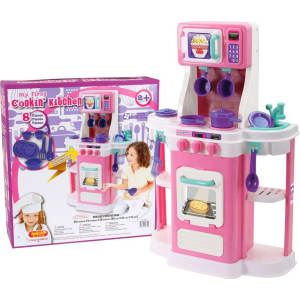Amloid My First Cooking Kitchen Pink