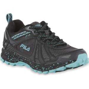 59067012c8 Fila Women s Tko Trail 3.0 Athletic Shoe - Black Blue