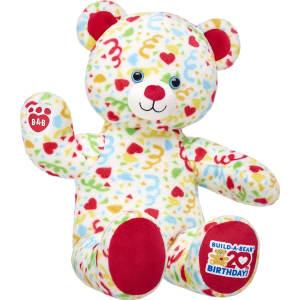 647418274e4 20th Birthday Confetti Teddy from Build-A-Bear Workshop.