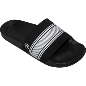 87b56a40c629d Women s Cala Striped Slide Sandals - C9 Champion Black 8 from Target.
