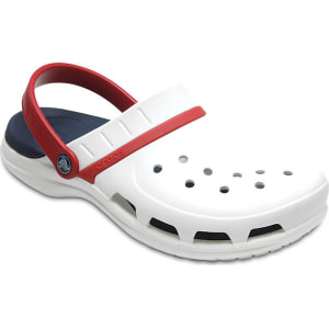choose clearance the best top fashion Crocs White / Navy/Pepper Modi Sport Clogs Shoes