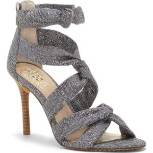 Vince Camuto Chania Linen Strappy Dress Sandals